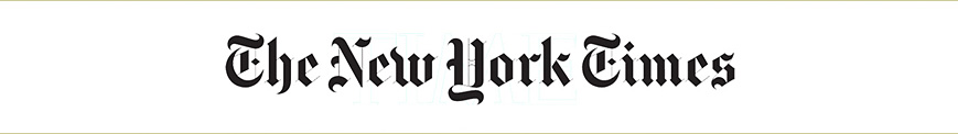 New York Times header